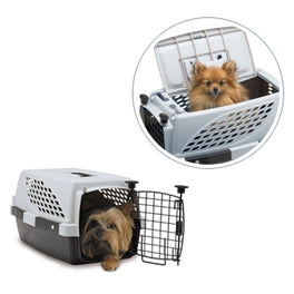 Firstrax Noztonoz Pet Suite Multi-Use Pet Kennel Double Door 19in
