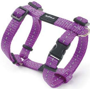 Rogz Utility Purple Dog Harness XL