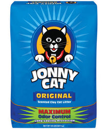 Jonny Cat Original Scented Cat Litter - 3 Bags Of 10lb