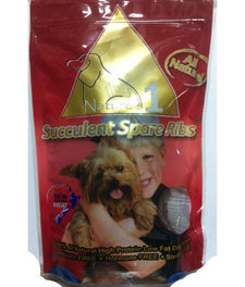 Nature's 1 Spare Ribs Dog Treats 150g