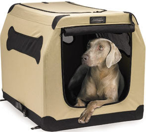 Firstrax Petnation Port-A-Crate Model E Portable Crate For Pets 36in - Kohepets