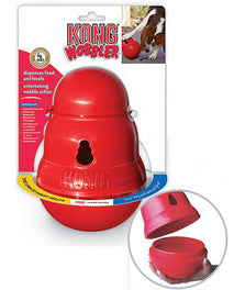 Kong Wobbler Dog Food And Treat Dispenser Small