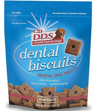 D.D.S. Dental Biscuits 90ct - Kohepets