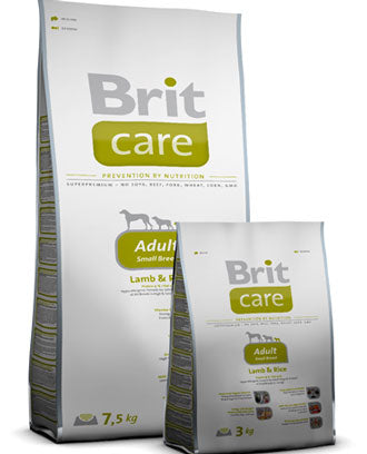Brit Care Small Breed Lamb & Rice Dry Dog Food