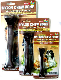 10% OFF: Percell Nylon Coffee Chew Hard Bone Large