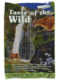 40% OFF + FREE BOWL: Taste of the Wild Rocky Mountain Feline Dry Cat Food