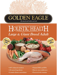 Golden Eagle Holistic Health Large & Giant Breed Adult Dry Dog Food 15kg