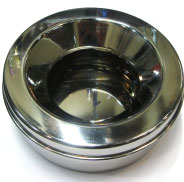 Pet Ware Stainless Steel Non Spill Feeding Bowl - Kohepets