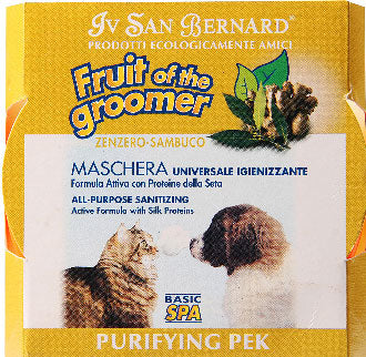 IV San Bernard Fruit Of The Groomer Purifying Zenzero-Sambuco Ginger & Elderberry Conditioner 250ml - Kohepets