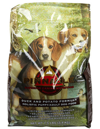 Pinnacle Grain Free Duck & Potato Dry Dog Food