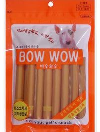 Bow Wow Cheese Sausage Dog Treat 240g