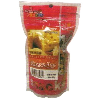 Wp Pinkin Small Animal Treats - Cheese Bar 60g - Kohepets