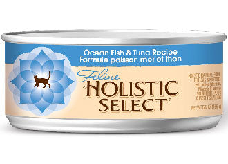 Holistic Select Ocean Fish & Tuna Canned Cat Food 156g - Kohepets