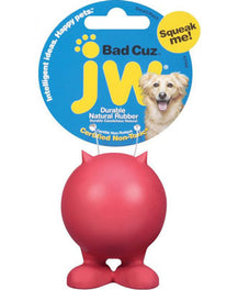 JW Bad Cuz Rubber Dog Toy Medium