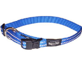 Rogz Utility Blue Dog Collar - Xl