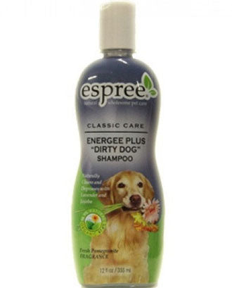 Espree Energee Plus Dirty Dog Shampoo 20oz - Kohepets