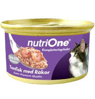 Nutri One Tuna With Shrimp Canned Cat Food 85g - Kohepets