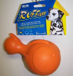 JW Ruffians Fish Rubber Dog Toy