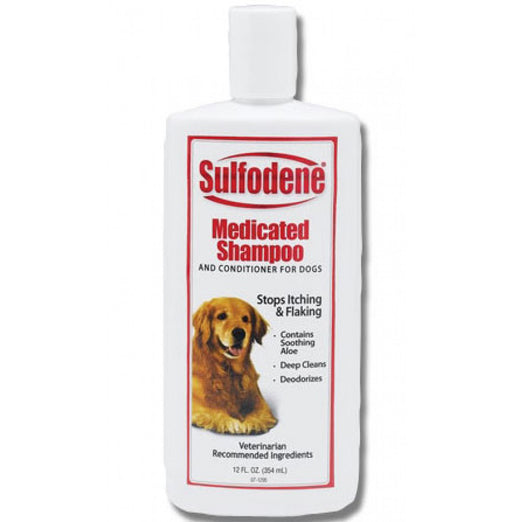 Sulfodene Medicated Shampoo & Conditioner For Dogs 12oz - Kohepets
