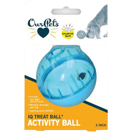 OurPet's Smarter Interactive IQ Treat Ball Toy for Dogs & Cats