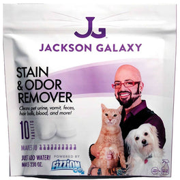 Jackson Galaxy's Fizzion Stain & Odor Remover 10 Refill Tablets