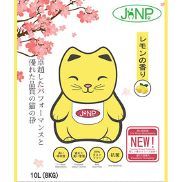 JANP Lemon Scented Clumping Cat Litter 10L