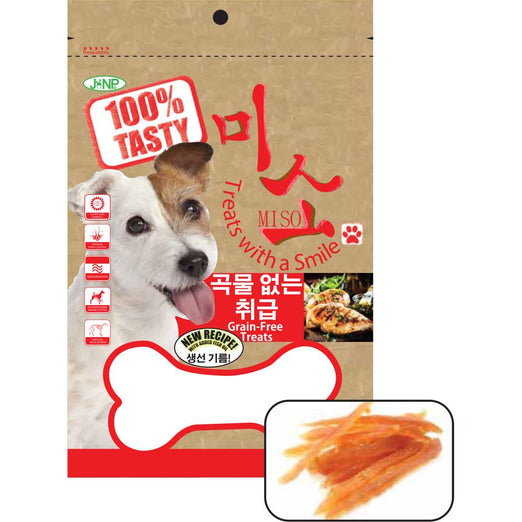 JANP Miso Soft Chicken Slice Grain Free Dog Treats 100g - Kohepets