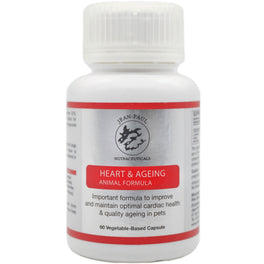 Jean-Paul Nutraceuticals Heart & Aging Animal Formula Supplement for Cats & Dogs 60ct