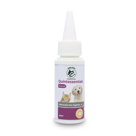 Jean-Paul Nutraceuticals Quintessentials Aural Lotion for Cats & Dogs 50ml - Kohepets