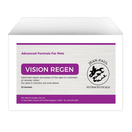 Jean-Paul Nutraceuticals Vision Regen Supplement for Cats & Dogs 30ct