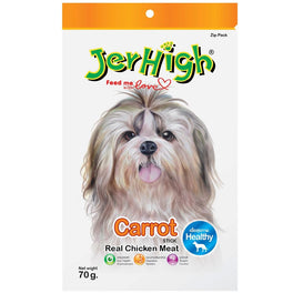 Jerhigh Carrot Stick Dog Treat 70g