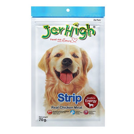 Jerhigh Strip Dog Treat 70g