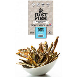Just Fish Rustic Sprats Dog & Cat Treats 140g