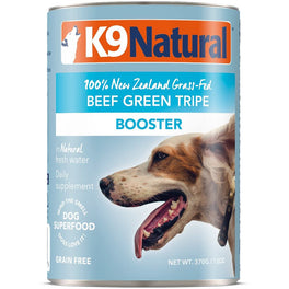 K9 Natural Beef Green Tripe Booster Grain-Free Canned Dog Food 370g