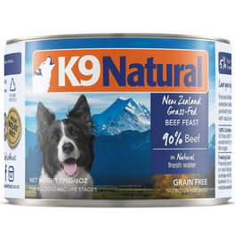 K9 Natural Beef Feast Canned Dog Food 170g
