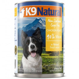 K9 Natural Chicken Feast Canned Dog Food 370g
