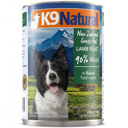 K9 Natural Lamb Feast Canned Dog Food 370g