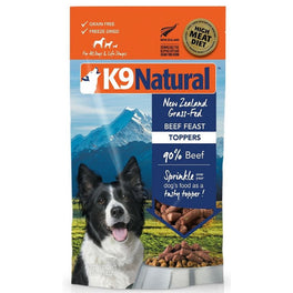 K9 Natural Freeze Dried Beef Feast Topper 5oz