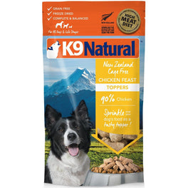 K9 Natural Freeze Dried Chicken Feast Topper 3.5oz