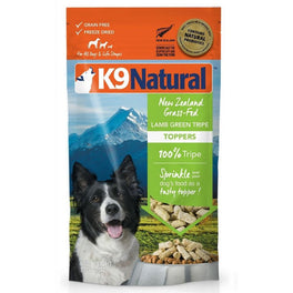 K9 Natural Freeze Dried Lamb Green Tripe Topper 2oz