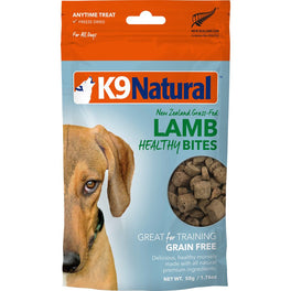 K9 Natural Healthy Bites Lamb Freeze-Dried Dog Treats 50g