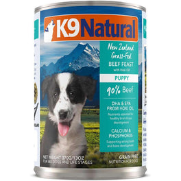 K9 Natural Puppy Beef & Hoki Canned Dog Food 370g