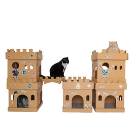 Kafbo Castle Cat Cube With The Princess Sticker (The Ginger Cat)