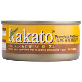 Kakato Chicken & Cheese Canned Cat & Dog Food-170 g