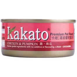 Kakato Chicken & Pumpkin Canned Cat & Dog Food