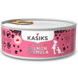 Kasiks Wild Coho Salmon Grain Free Canned Cat Food 156g