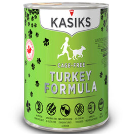 Kasiks Cage-Free Turkey Grain Free Canned Dog Food 345g