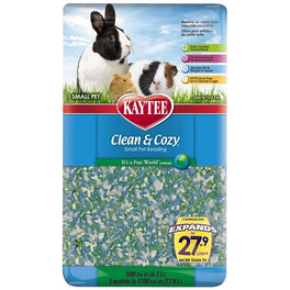 Kaytee Clean & Cozy Fun World Paper Bedding 8.2L