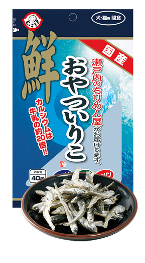 Kimura Dried Anchovy Dog & Cat Treats 40g