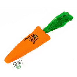 King Catnip Carrot Cat Toy